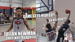 JULIAN NEWMAN THEY NOT READY!! HOW IT REALLY WENT DOWN!!  Future Rivalry??