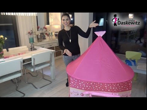 Test: Knorrtoys Spielzelt Little Princess - Pink | babyartikel.de