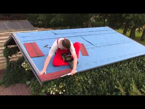 Fai da te - Come posare le tegole canadesi - Easy Shingle sopra il vostro tetto