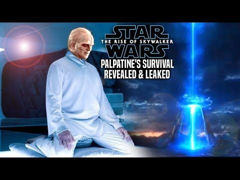 Palpatine Never Died & Survival Leaked! The Rise Of Skywalker (Star Wars Episode 9)