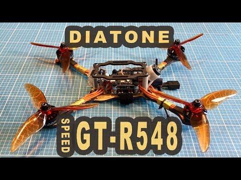 Diatone GT R548 GTR MK3 5 Zoll 2750KV 4S FPV Racing Drone