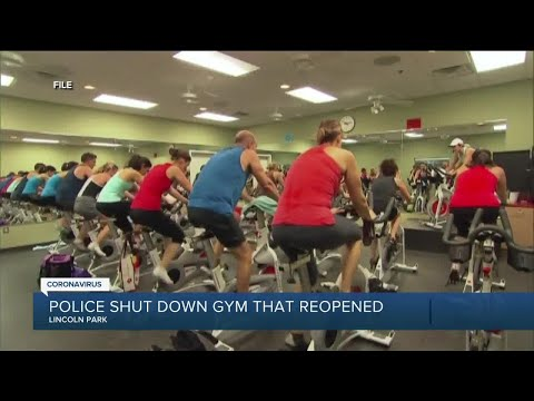 Police shut down Lincoln Park gym, give owner and members citations