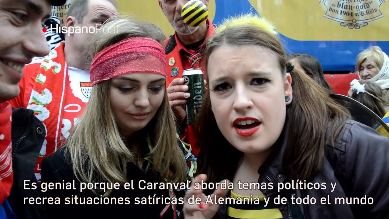 """Trump se """"arrodilla"""" ante Putin en el Carnaval de Colonia"""