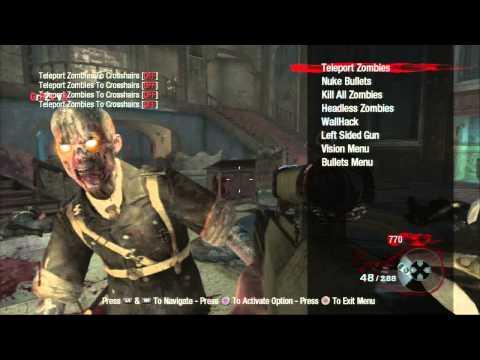 BO1/PS3] Gr3Zz v 4 Zombie Mod Menu + Download - смотреть