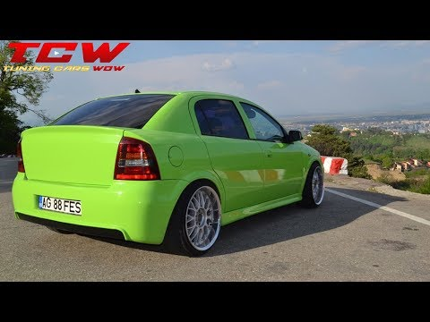 Opel Astra G 1.6 16V Clean ECO Tuning Project