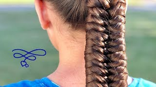 Knotted Fishtale Braid