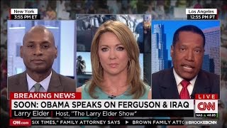 "Larry Elder: ""Let's not assume this (Michael Brown Shooting) was racially motivated"""