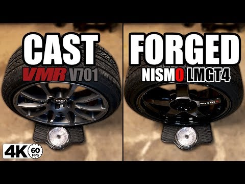Cast vs. Forged Wheels (Comparing EXACT Sizes)