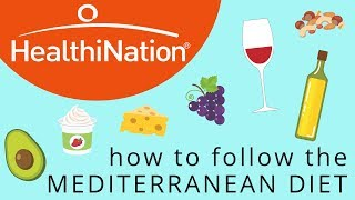 This Is How To Follow The Mediterranean Diet, Explained In 2 Minutes | HealthiNation