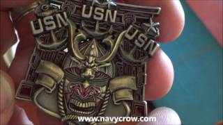 US Navy West Pac Chief Coin