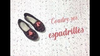 Comment Coudre Des Espadrilles : Tuto Couture