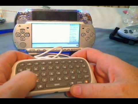 PSP Gets Unofficial Xbox Keyboard Mod