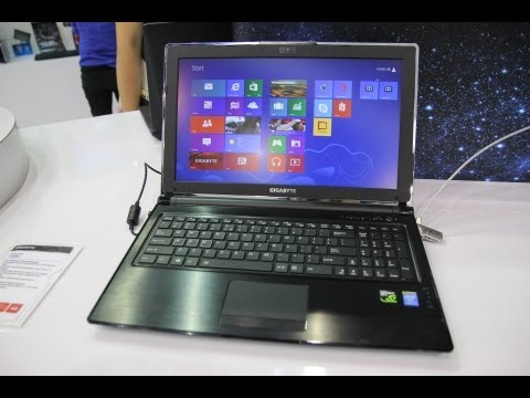 Gigabyte P25W Gaming Notebook Hands On