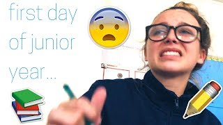 FIRST DAY OF SCHOOL VLOG