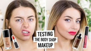 TESTING BODY SHOP MAKEUP / FULL FACE FIRST IMPRESSIONS I COCOCHIC