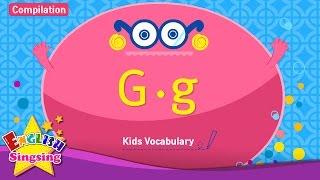Kids từ vựng biên soạn - Words bắt đầu với G, g 2