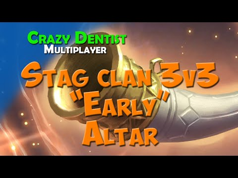 """Northgard Stag Clan in 3v3 