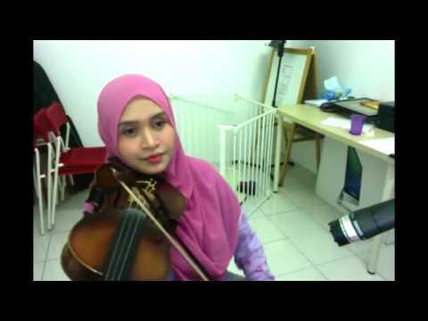 Khalifah - Hang Pi Mana ( Violin cover by Endang Hyder )