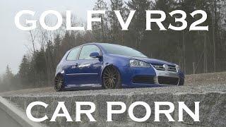 Bagged R32 Carporn (VW Golf 5 R32)