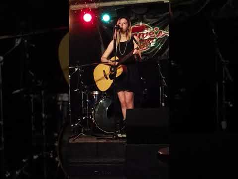 Performing one of my originals at Connie's Ric Rac
