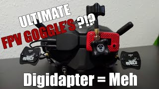 The Ultimate FPV Goggles 2020?!? - DJI Goggle Upgrades - DIGIDAPTER - Menace RC DJI Pico's