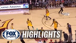 Bobby Hurley loses his mind and is ejected in loss to Arizona - College Basketball Highlight