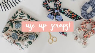 Use Up Scrap Fabric! 3 Quick & Easy Sewing Projects