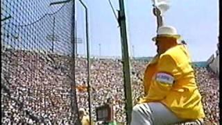 Juergen Hingsen Decathlon Discus Throw LA Olympics 1984 50.82m