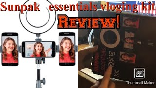 [Review] Sunpak essentials vlogging kit