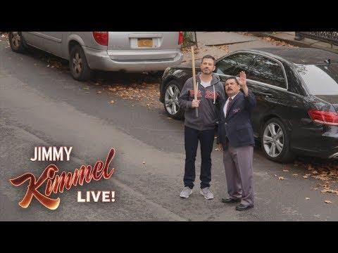 Jimmy Kimmel & Guillermo Break Rosie Perez's Window