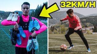 Welcher Fußballschuh ist der schnellste?! Speed Boot TEST