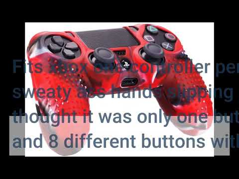 User Review: MXRC Silicone Rubber Cover Skin case Anti-Slip Studded Customize for Xbox One/S/X...