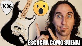 Así Suena Una FENDER Stratocaster American HSS | La Guitarra De Los Mil Sonidos! | TCDG