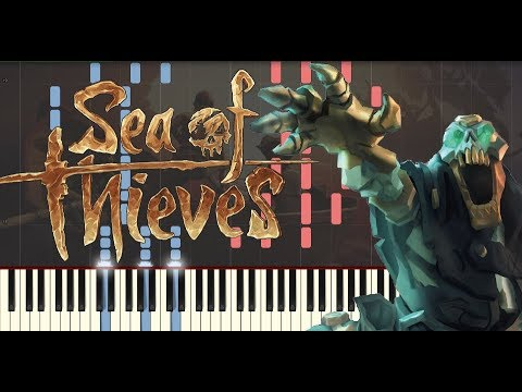 Sea of Thieves: On the Warpath - Synthesia Piano Tutorial