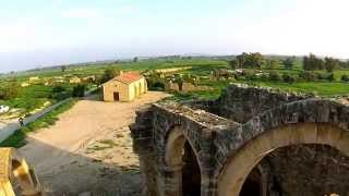 preview picture of video 'Agios Sozomenos Nicosia Cyprus Aerial DJI Phantom 2 Vision+'