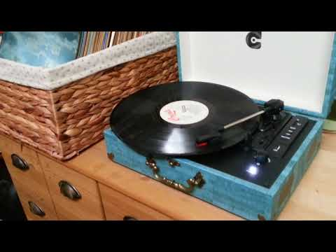Wockoder Vinyl Plattenspieler Koffer Vintage Retro