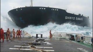 Gemi kazaları - Deniz Kazaları / Ship crash - Ship accident - Collision, Capsize, Sinking