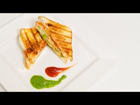 Veg Grill Sandwich Recipe Double Decker – Quick & Easy Indian Street Style