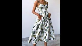 Одежда с AliExpress – Шикарный летний сарафан на каждый день