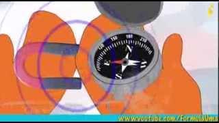 Почему компас показывает на север?