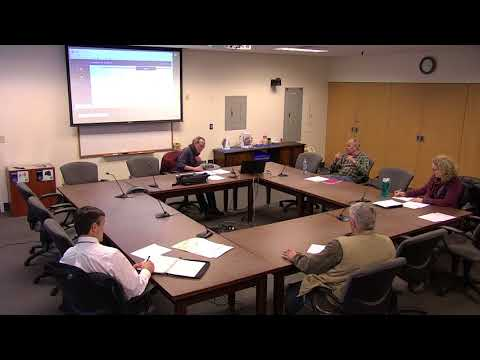 1.25.18  Conservation Commission meeting regarding Organic Pesticides