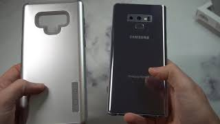 Incipio DualPro Samsung Galaxy Note 9 Case Gray Unboxing and Review