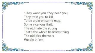 Joni Mitchell - The Beat of Black Wings Lyrics