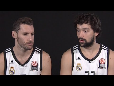 One-On-One interview: Rudy Fernandez & Sergio Llull, Real Madrid