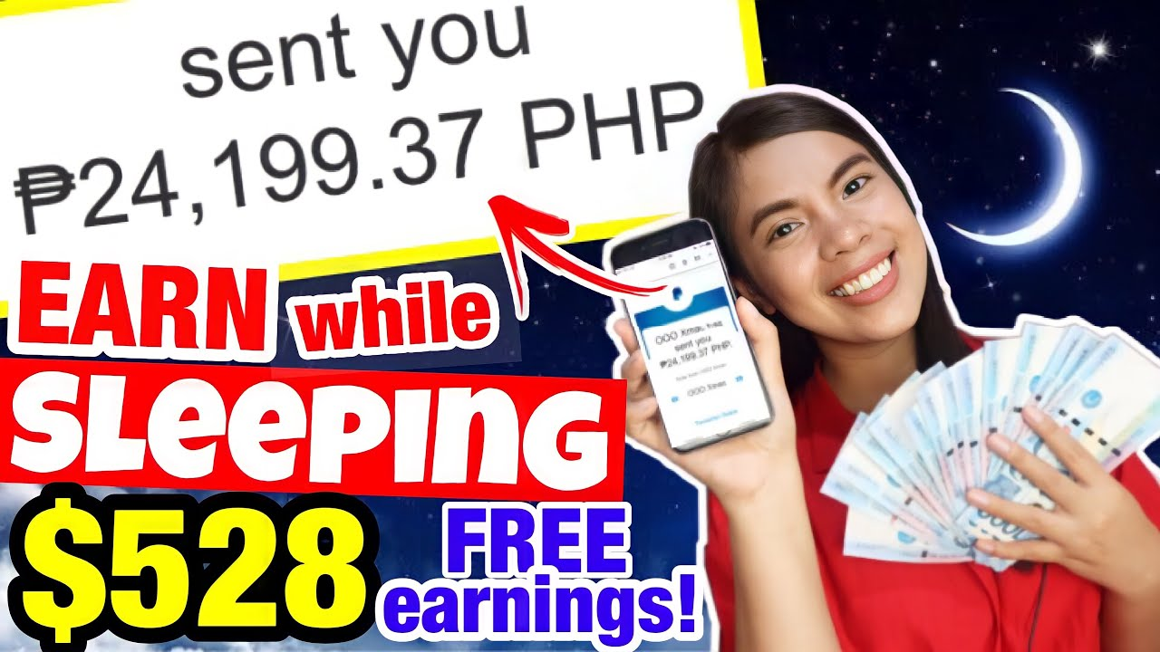 I MADE $528 [P24,199] TOTALLY FREE WHILE SLEEPING! NO REQUIRED RECOMMENDATIONS|Make not doing anything! Live Withdrawal thumbnail