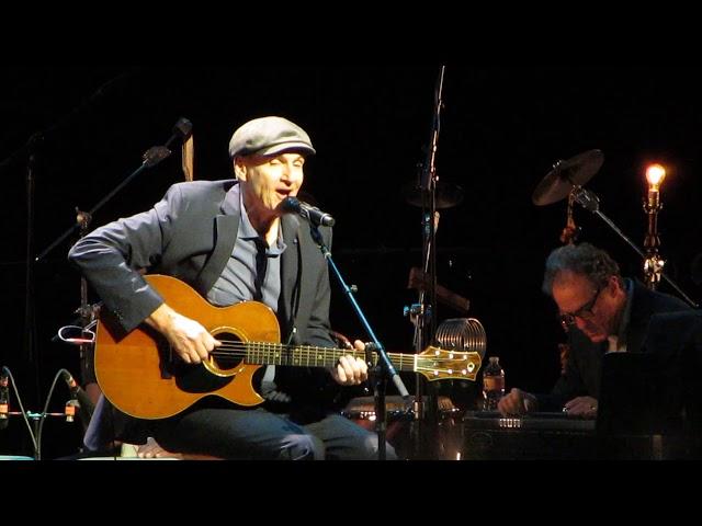James Taylor sings