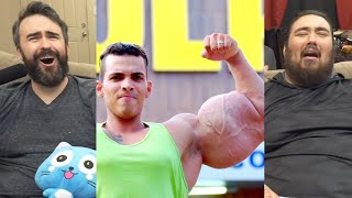 """Real Life """"HULKS"""" Inject Muscles With Oil 