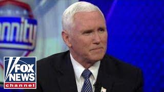 Mike Pence on sanctuary laws, immigration reform and Joy Behar