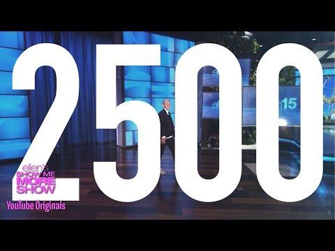 Ellen Remembers 2,500 Shows (видео)