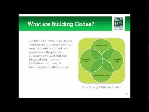 Building Codes 101, Part I: Introduction to Building Codes